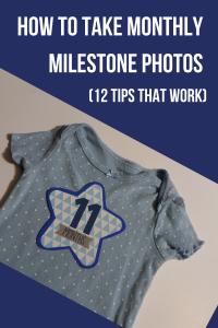 Monthly Milestone Photos - Pin 1