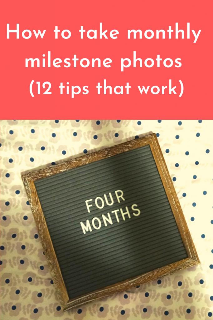 Monthly Milestone Photos - Pin 2