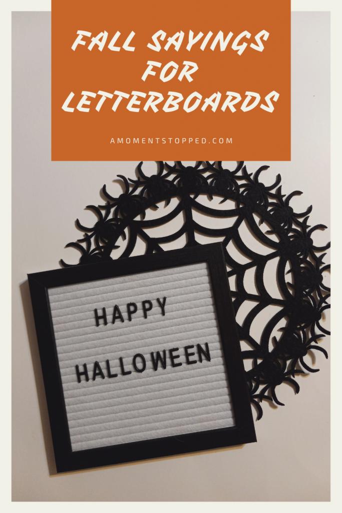 Fall Letterboard Sayings - Pin 2