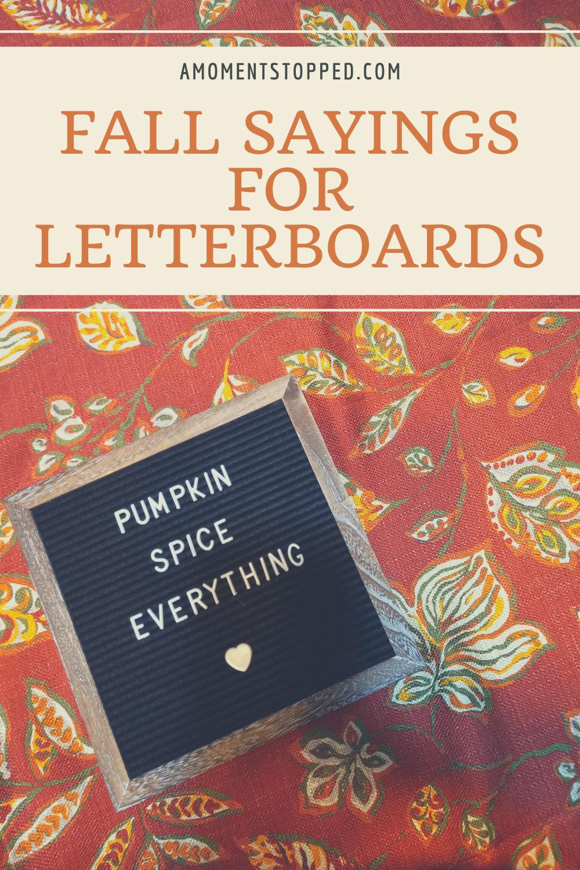 Fall Letterboard Sayings - Pin 3