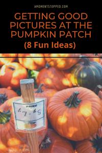 Good Photos at the Pumpkin Patch - Pin 01